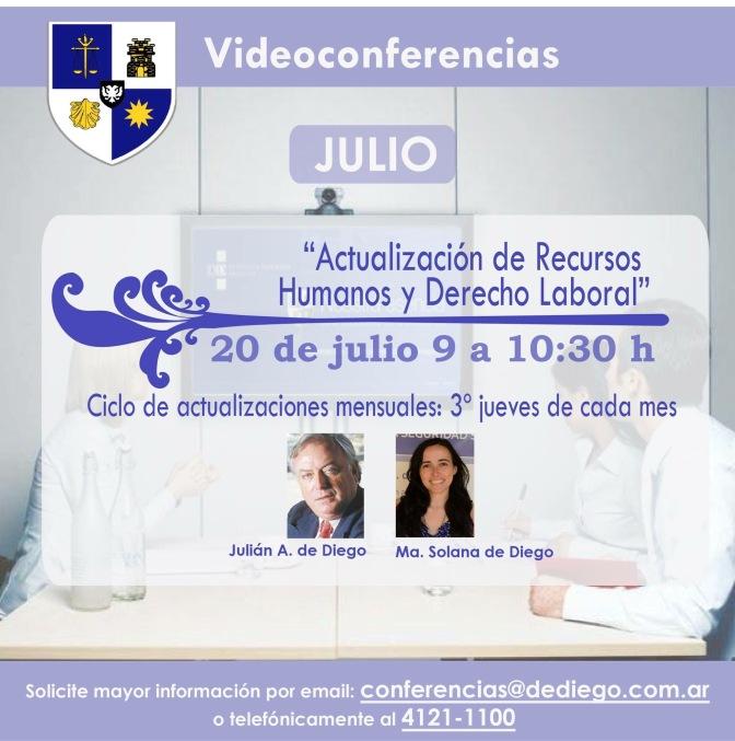 Actualización en Recursos Humanos y Derecho Laboral (Julio/17)
